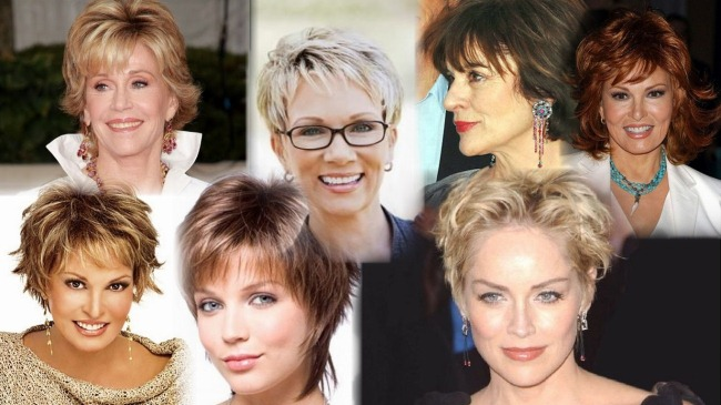 Potongan Rambut Untuk Rambut Pendek Dan Sederhana Awet Muda Cantik Foto Item Baru 2020 Untuk Wanita
